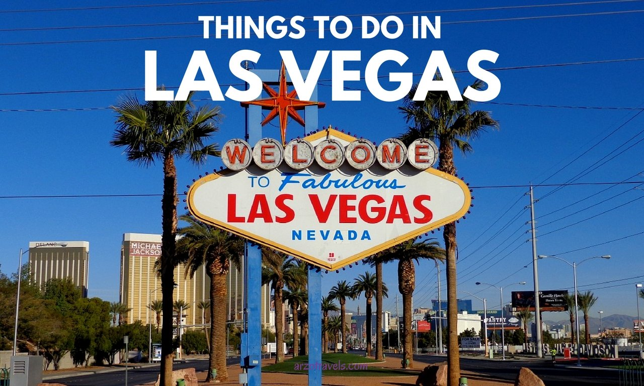 Things to do and see in Las Vegas in 2 weeks.