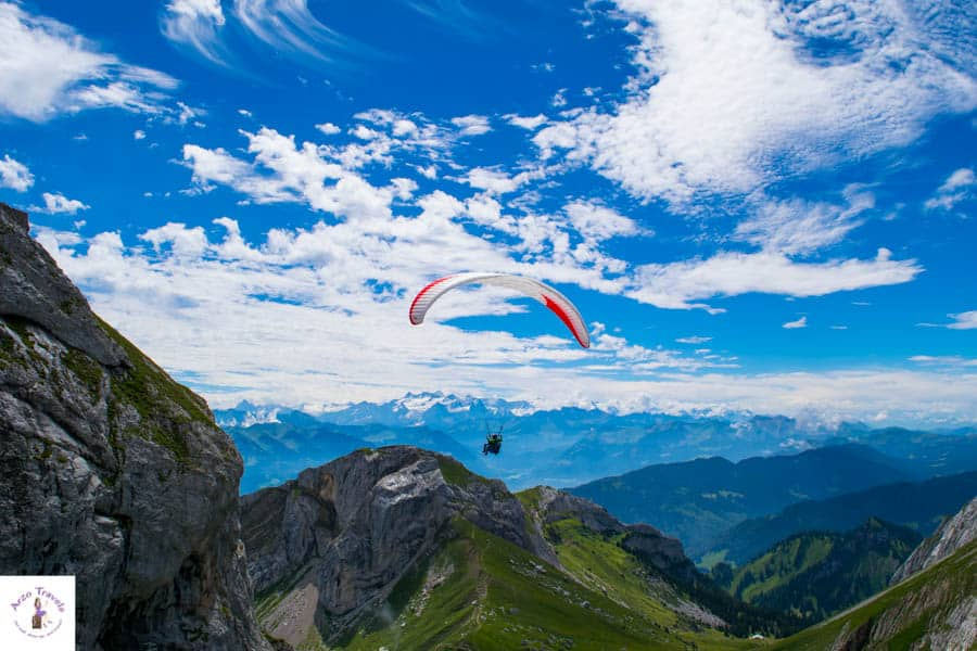 Things to do up Mount Pilatus
