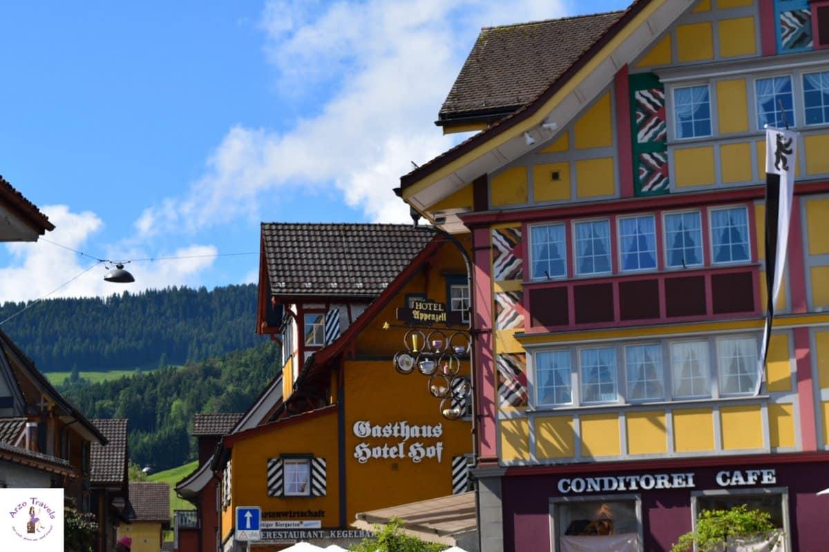 Gasthaus Hotel Hof in Appenzell