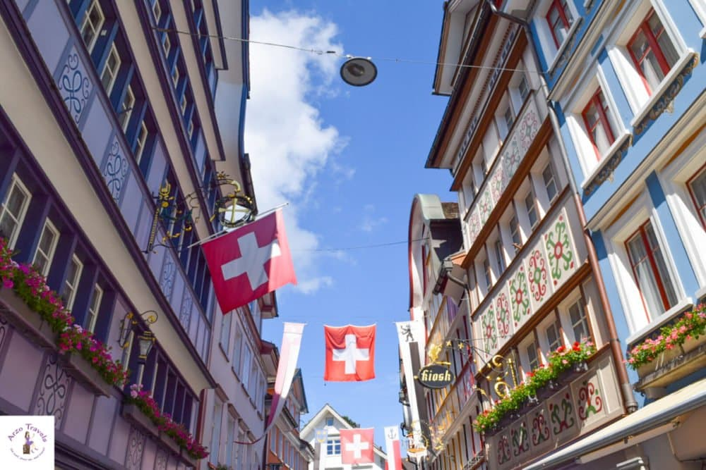 Appenzell, the most colorful town in Switzerland