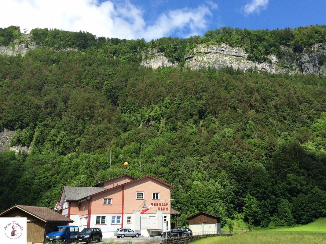 Edenalp Wasserauen Cable Station in Appenzellerland