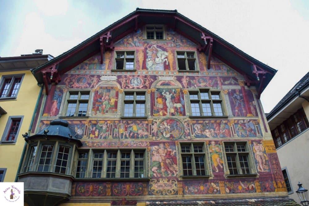 Schaffhausen´s most stunning facade