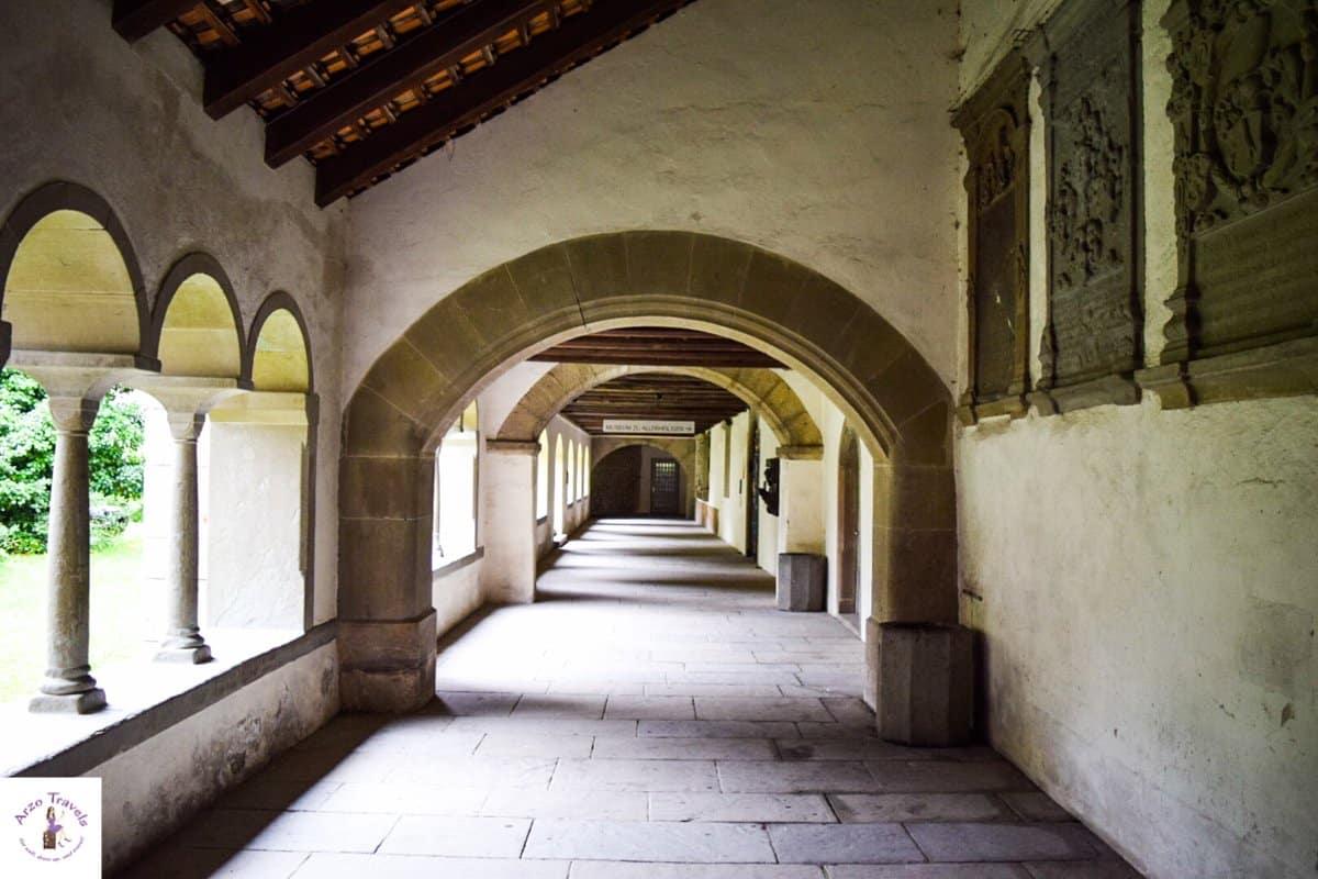 Münster Allerheiligen in Schaffhausen, the inside