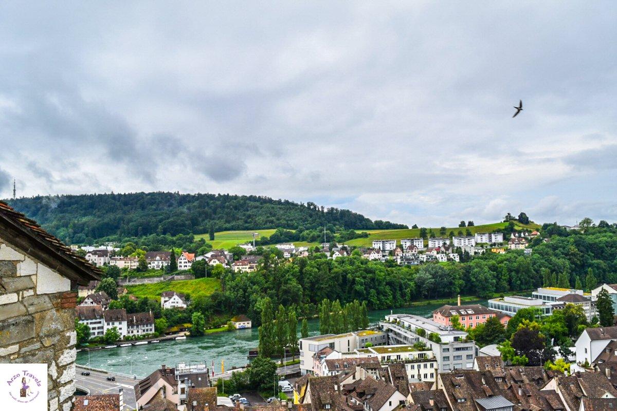 Schaffhausen A cute town close to the German border