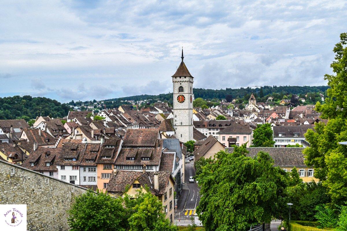 View over Schaffhausen