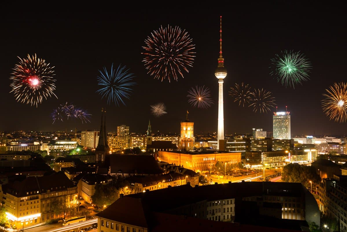 Berlin at New Year´s Eve shutterstock_161135267