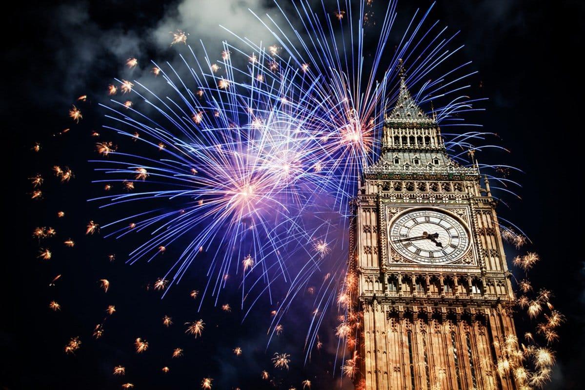 Big Ben Fireworks shutterstock_520644403