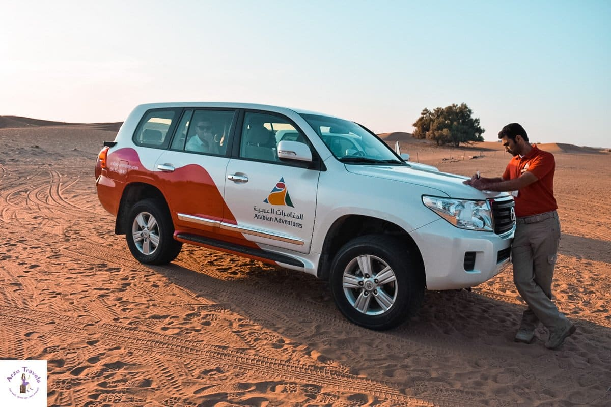 Desert Cruising with Arabian Adventures