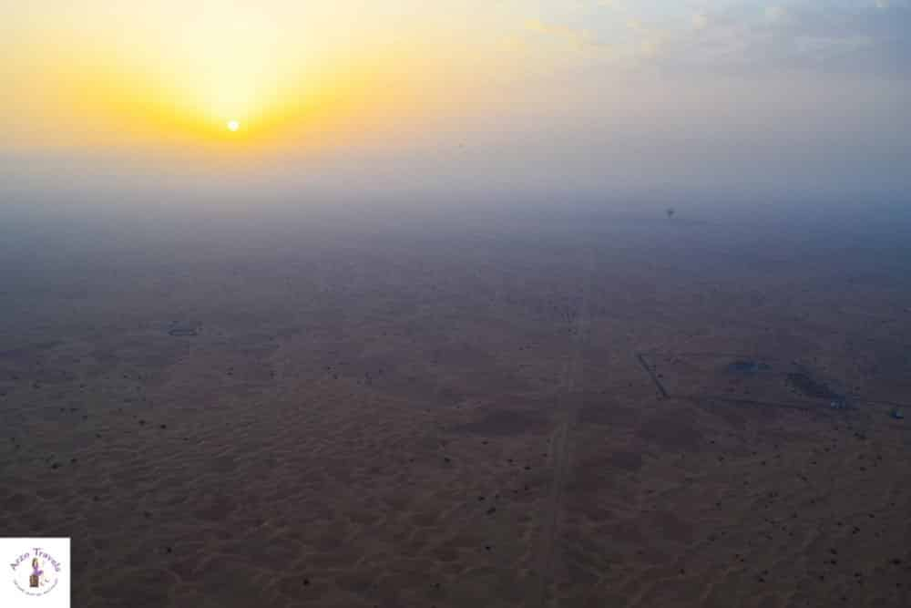High in the air-how to do a hot air balloon tour in Dubai
