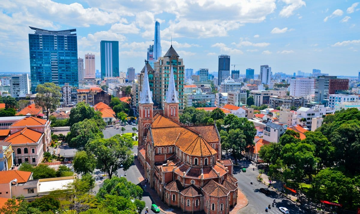 Ho Chi Minh City - City with many great markets @shutterstock