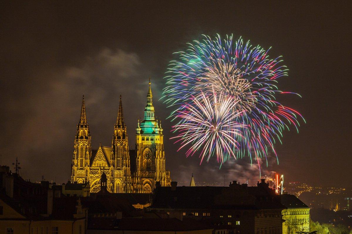 Prague celebrates New Years Eveshutterstock_216299497