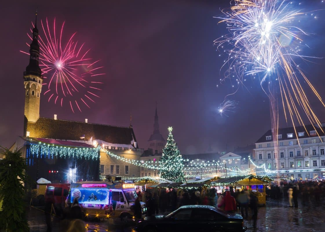 Tallinn New Year´s Eve Credit @Igor shutterstock_123236599