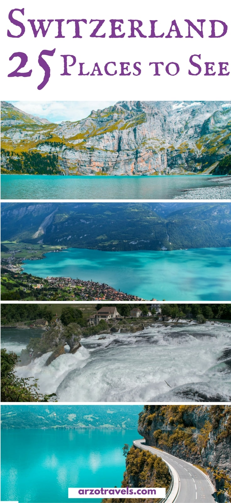 Best places to see in Switzerland and best things to do