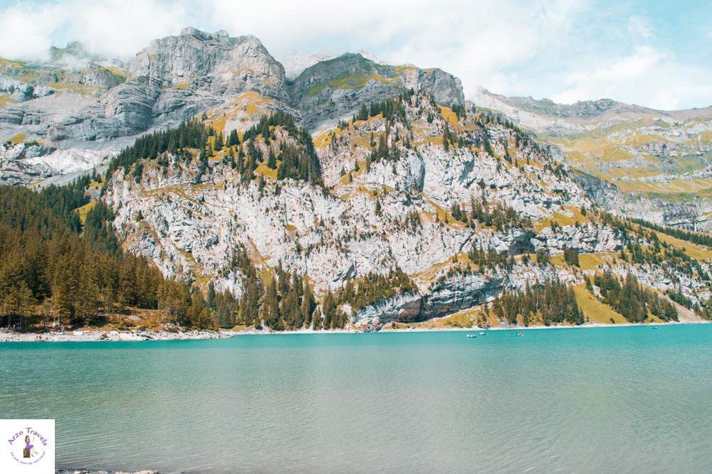 Best lakes in Switzerland Oeschinensee
