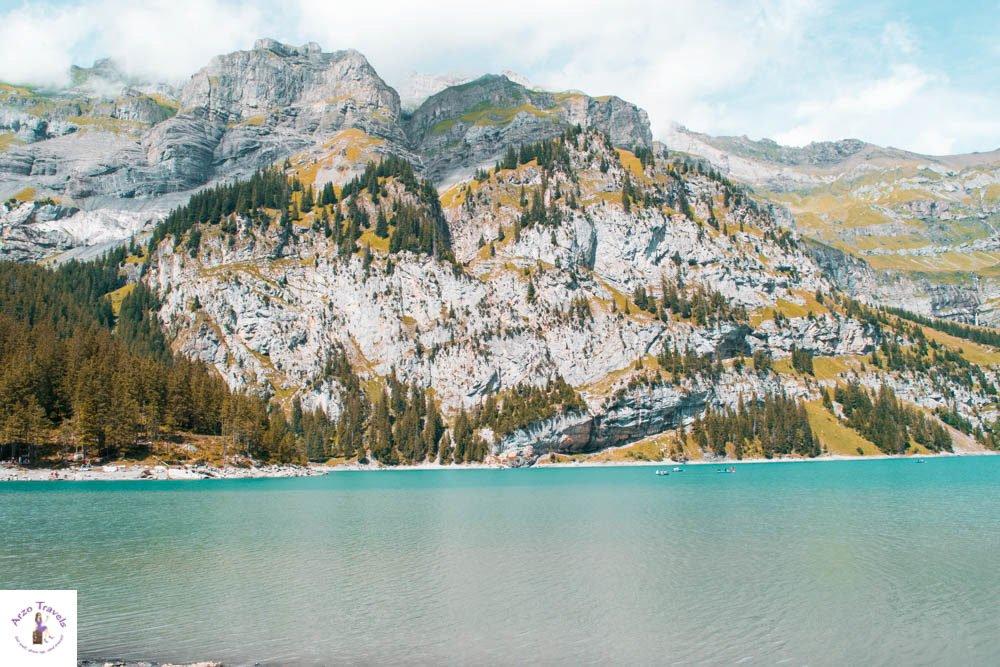 Best lakes in Switzerland Oeschinensee