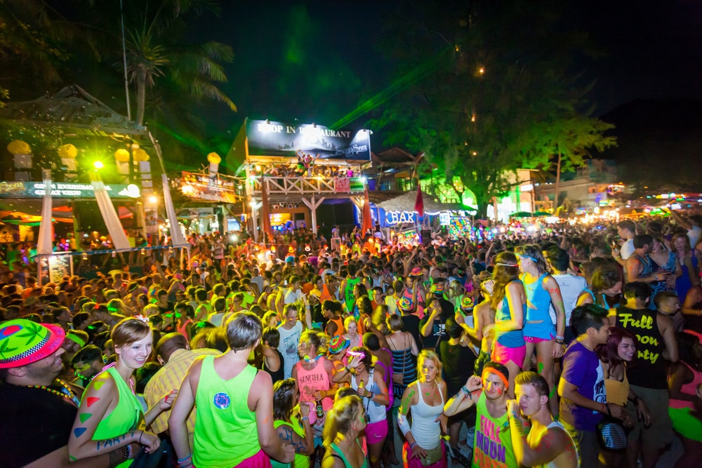 Full Moon Party in Thailand and other places not to miss in Thailand @shutterstock