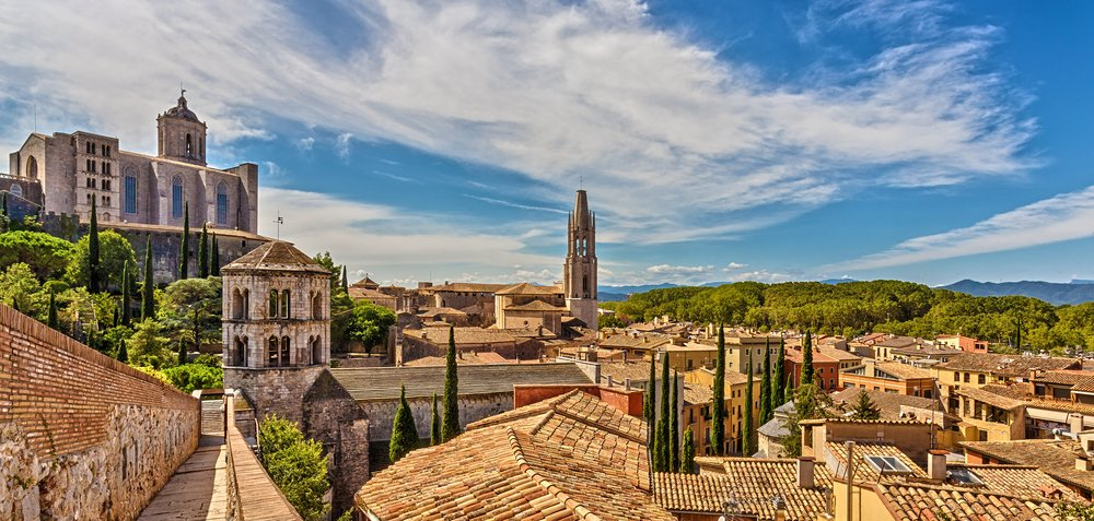 Spain points of interest. Girona