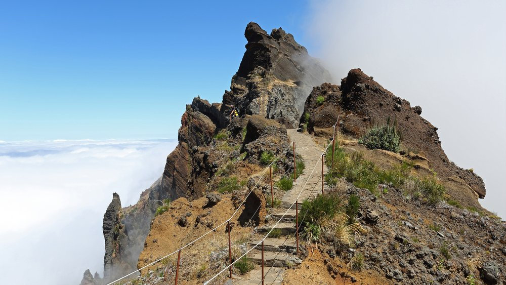 What to see in Portugal - Pico Arieiro and Pico Ruivo - with 1862 m highest Madeira mountain