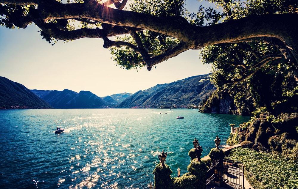 italy destinations Lake Como
