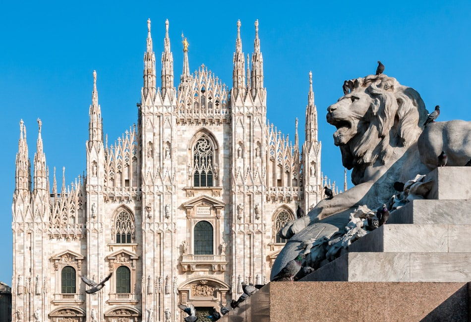 Italy holiday destinations Milan