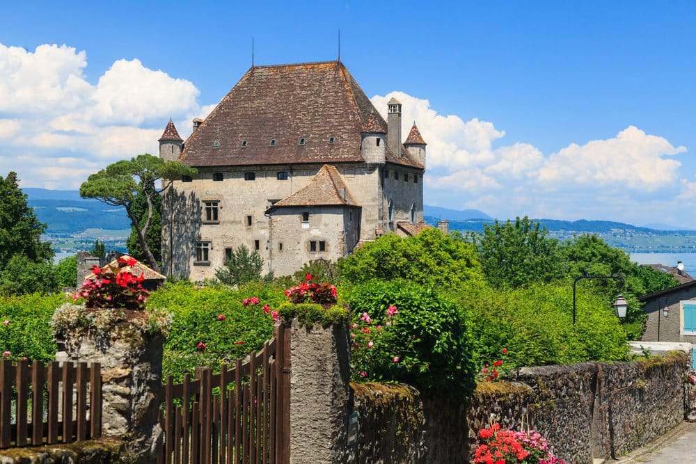 Most beautiful medieval village in south-east France Yvoire