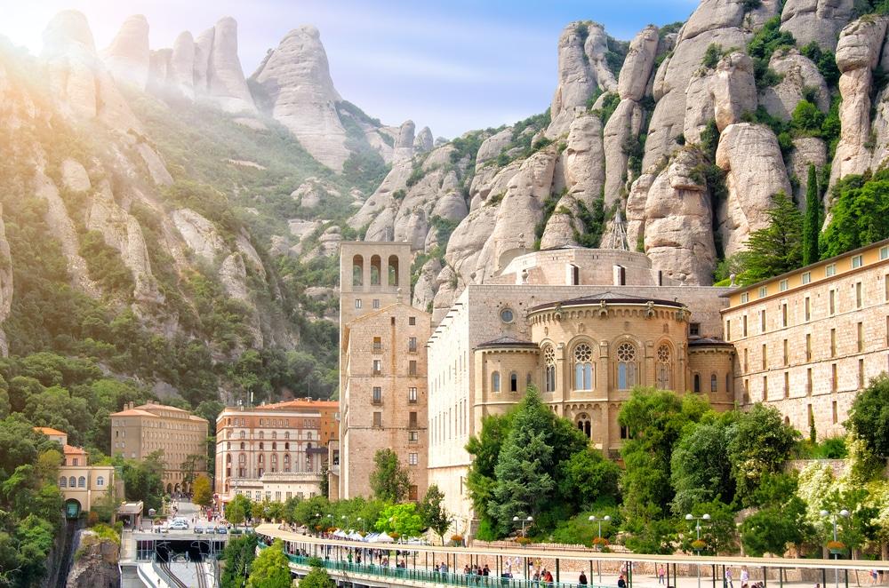 spain tourist attractions, Montserrat Monastery