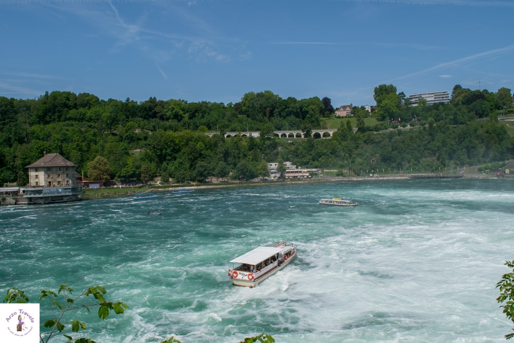 Rhine Falls best places to visit in Schweiz