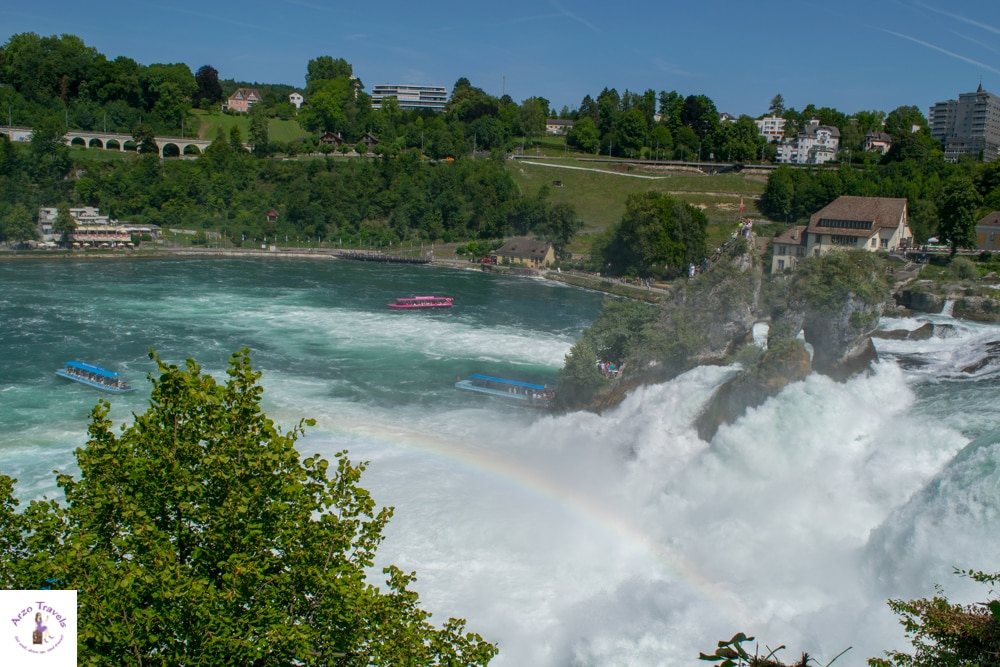 Rhine Falls Switzerland Best places to see in Switzerland
