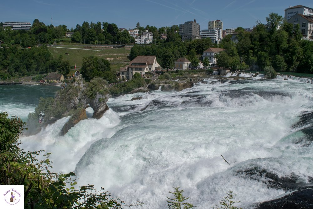 Where to go in Switzerland - see the Rhine Falls