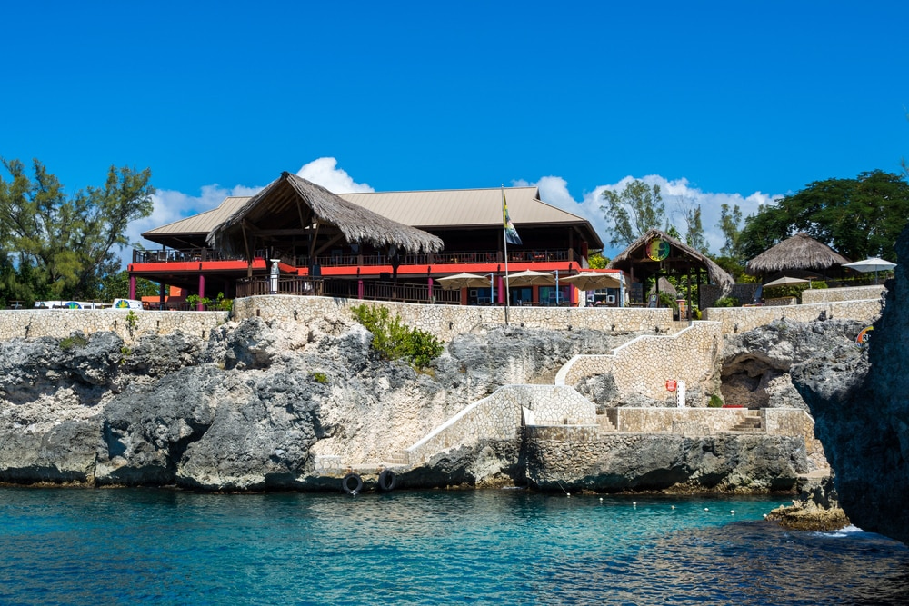 Jamaica vacation spots - Ricks Cafe