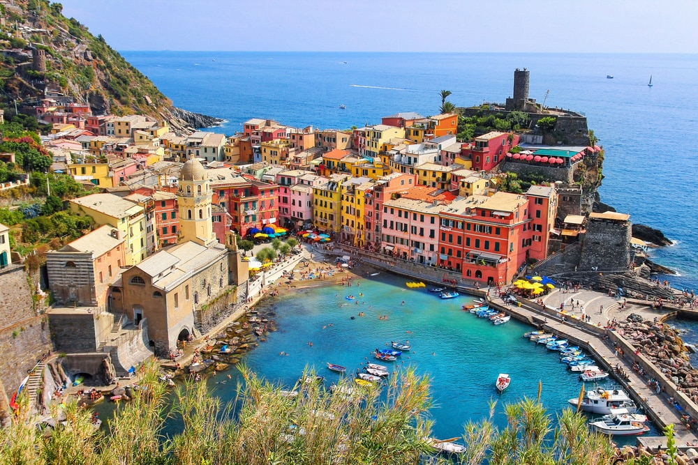 Vernazza @shutterstock places to visit in italy
