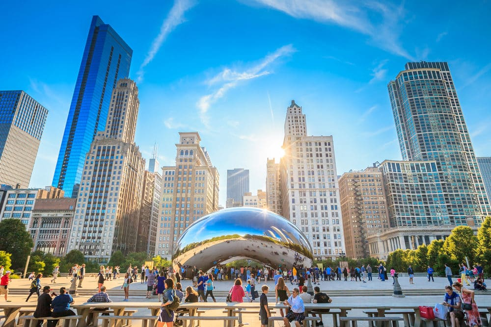 The Bean is a must for any Chicago itinerary