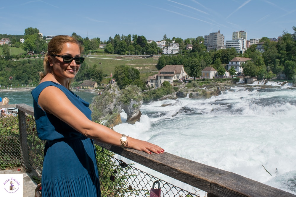 how to get to rhine falls