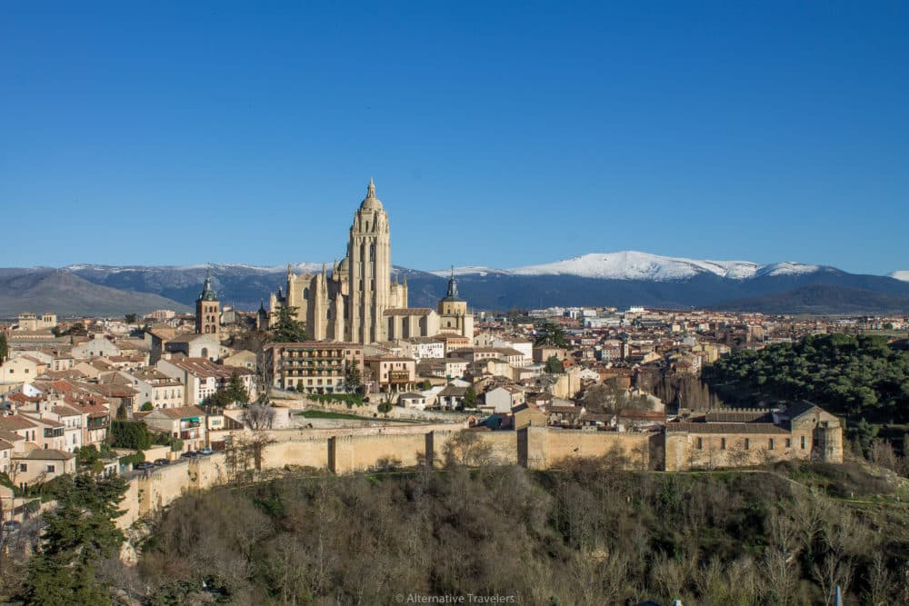 Spain places to visit Segovia