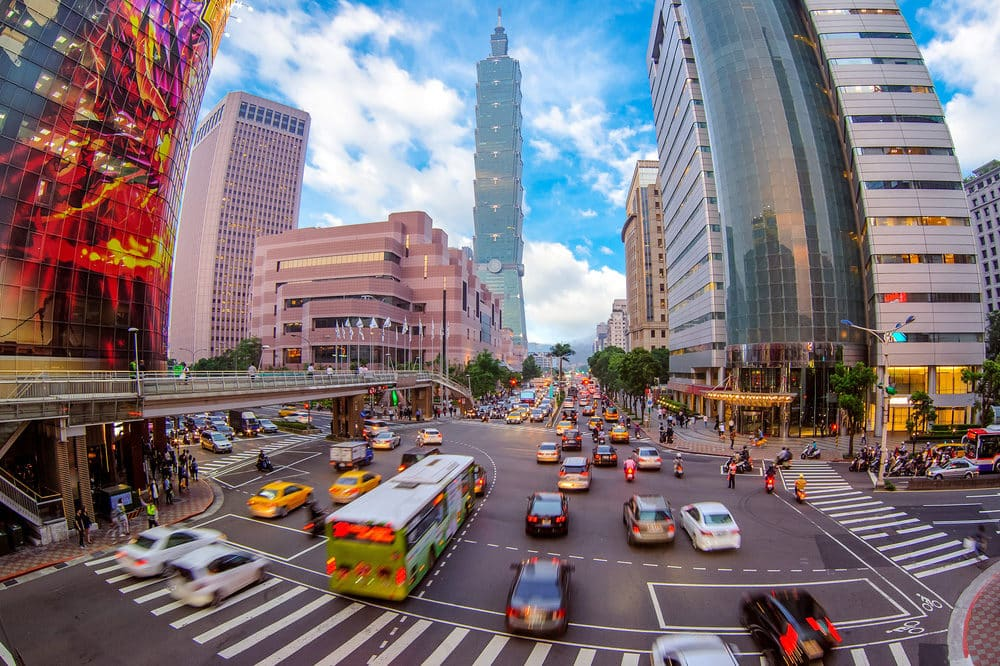 street view of taipei city where to go in Taipei