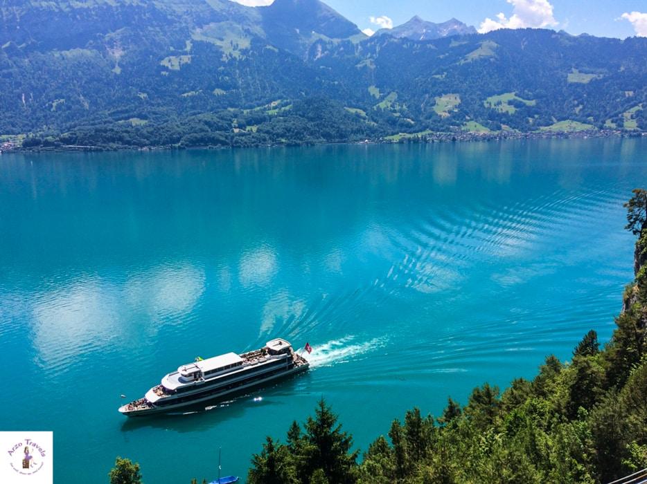 Lake Thun in Interlaken - best tours for Switzerland vacation