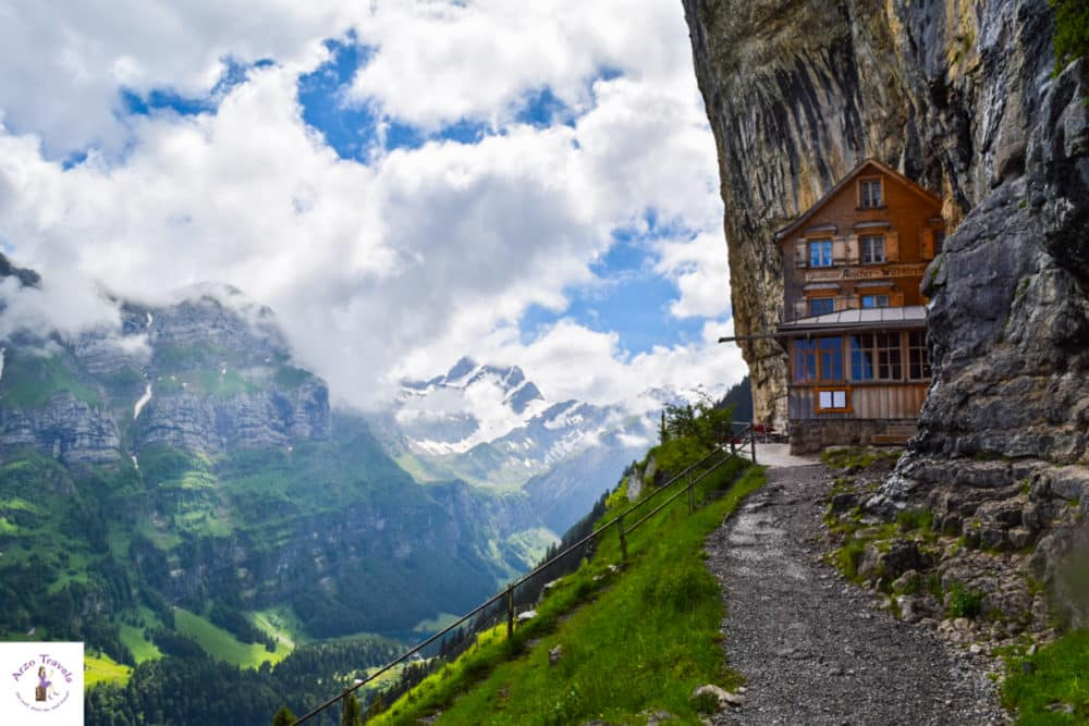 unique things to do in Switzerland Aescher Guest House