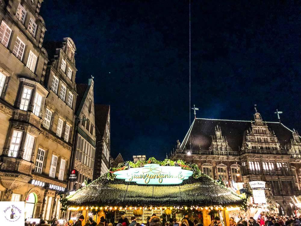 Bremen, Christmas Market at Market Square