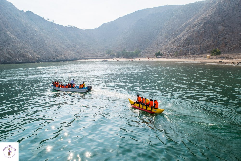 Banana Boat Riding in Musandam Activities in Oman