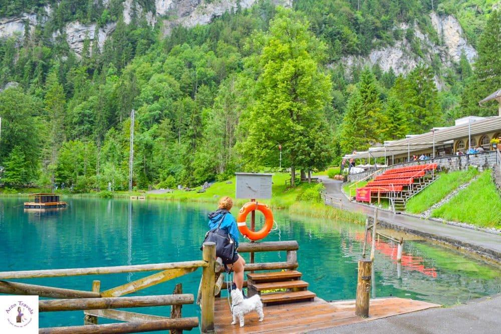 Bucket list places in Switzerland Blausee