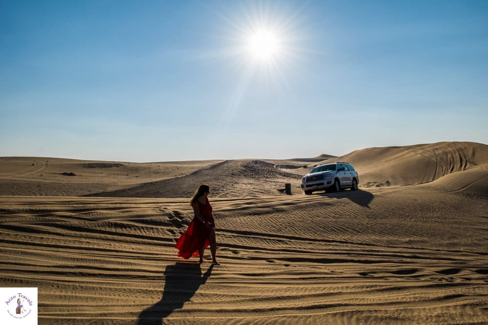 What to visit in Abu Dhabi - the desert is one of the best places to visit