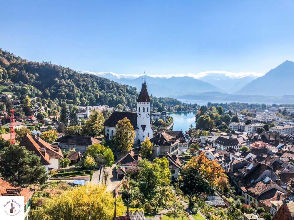 Thun, most beautiful town in Interlaken