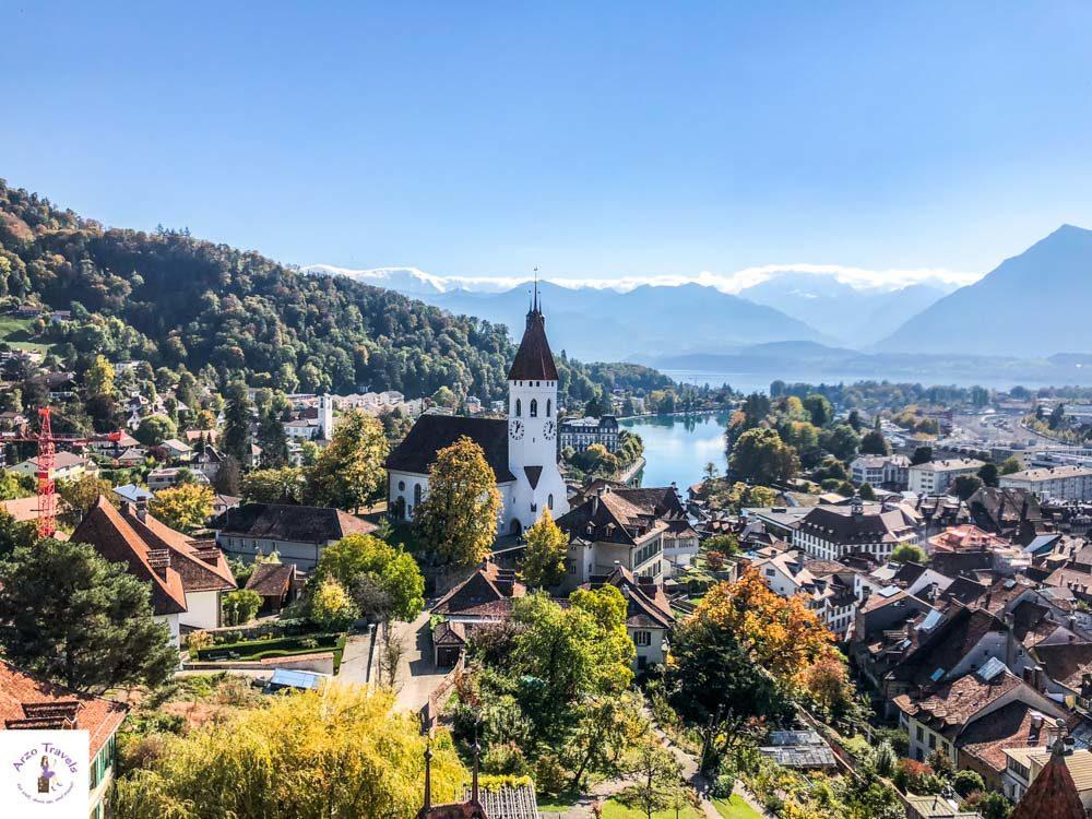 Thun, most beautiful town in Interlaken