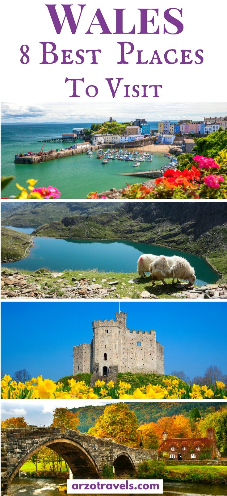 Find out about the best places to visit in Wales. These places need to be on your Wales itinerary as they are stunning and the top places to go in Wales.