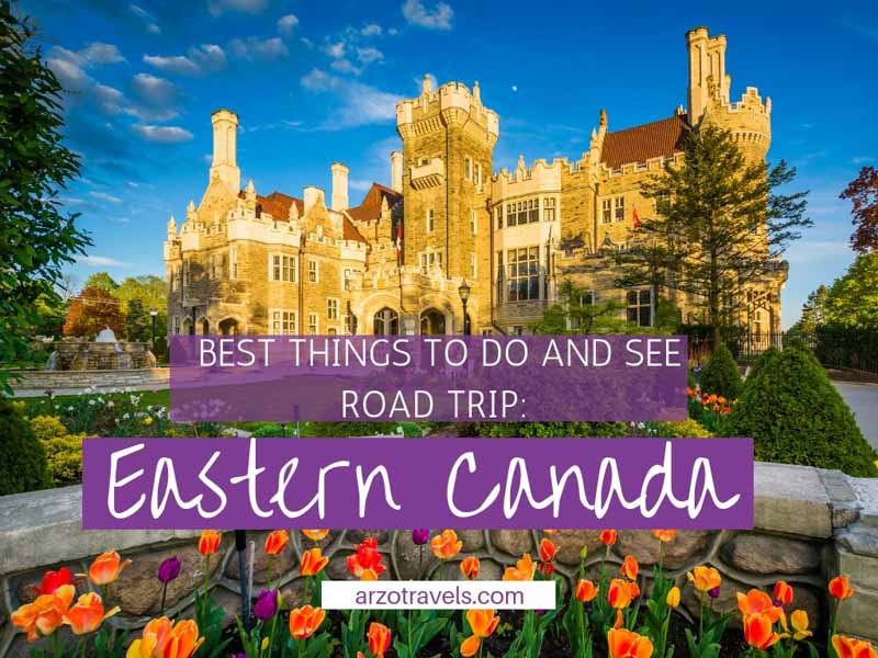 Best things to do and see when road tripping Eastern Canada