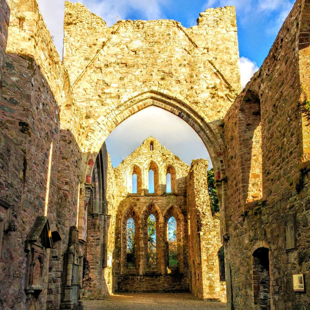Grey Abbey in Northern Ireland point of interest