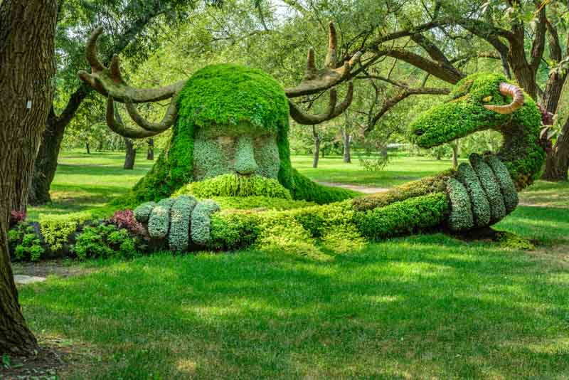 Montreal Botanical Garden, what to see in Eastern Canada