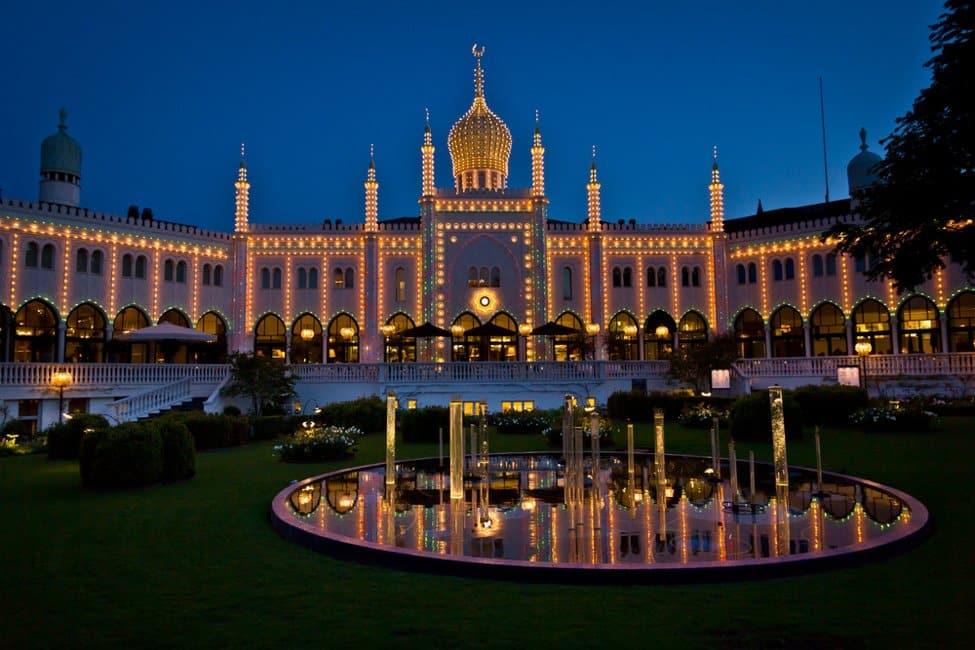 Where to visit in Copenhagen Tivoli Garden