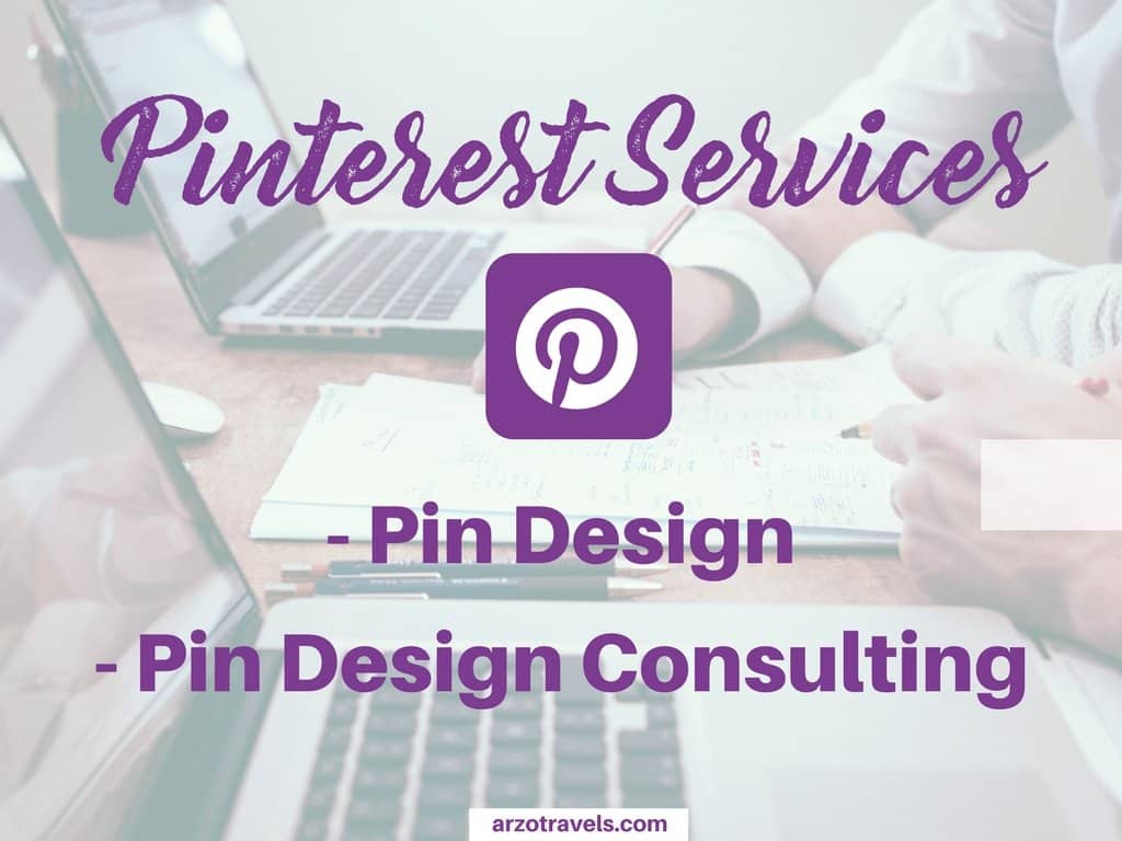 Pinterest Pin Design Services by Arzo Travels