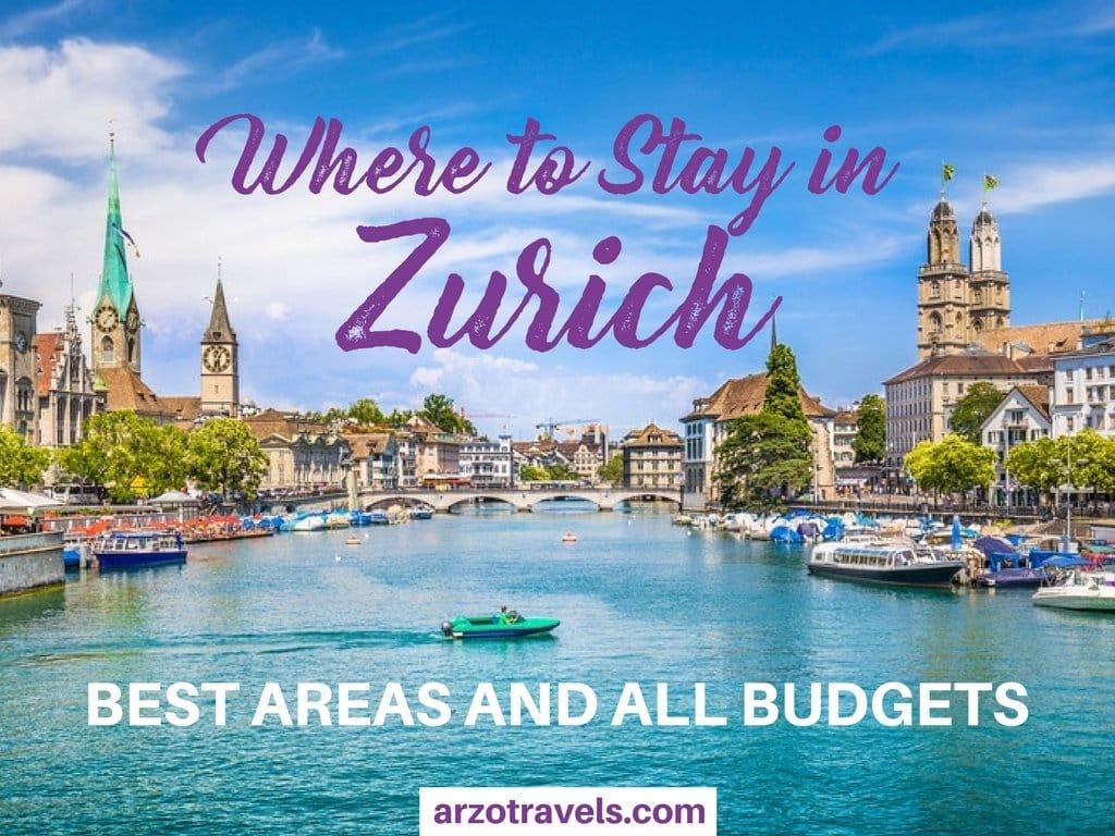 Where to stay in Zurich, Switzerland